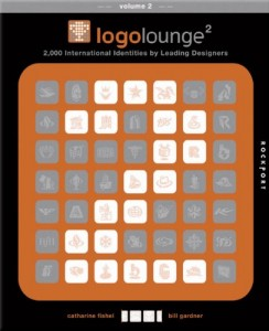 """Success in the Visual Arts: Dolce Studio Film's logo is included in the Rockport book """"Logo Lounge Vol 2"""""""