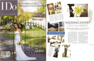 I Do: A Wedding Expert Gets Married - When Dolce Studio Films owner Haynal Papp walked down the aisle, she already had years of experience in the wedding industry. This is her story, published in I Do For Brides Magazine.