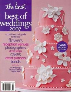 """The Knot """"Best of"""" Weddings Pick: 2007"""