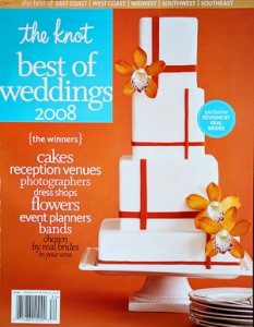 """The Knot """"Best of"""" Weddings Pick: 2008"""