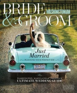 Dolce selected as 'Best Videographer' - Washingtonian Bride & Groom Spring 2014