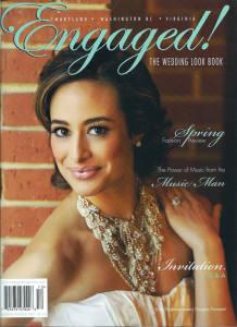 Dolce listed in Engaged! magazine's Winter-Spring 2011 issue vendor directory.
