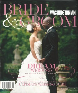 Dolce selected for inclusion among Washingtonian Bride & Groom's 'Best Videographers of 2014' list, Winter 2014
