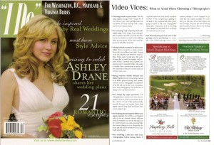 """I Do: """"Video Vices"""" - Advice from Dolce Studio Films owner Haynal Papp was featured in I Do For Brides Magazine."""