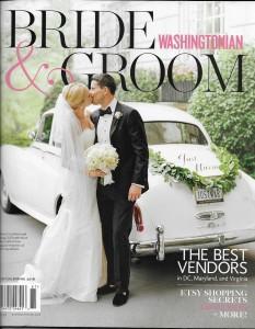 Washington's Prestigious Bride & Groom Magazine selects Dolce as Top Videographer Winter/Spring 2016