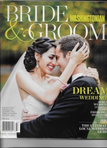 Dolce included as 'Best Videographer' in Washingtonian Bride & Groom's fall 2014 issue