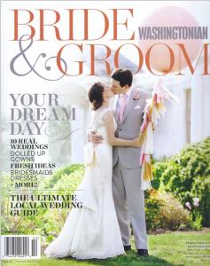 "Washingtonian Bride & Groom summer 2014 ""Best Of' DC videographers"