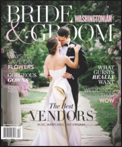 Dolce one of DC's 'Best Videographers' in Washingtonian Bride & Groom's Summer/Fall 2015 issue