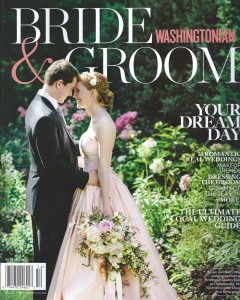Dolce one of DC's 'Best Videographers' in Washingtonian Bride & Groom's Winter 2015 issue